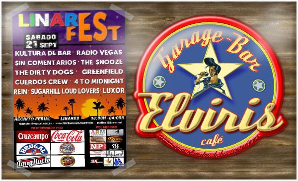 Linares Fest - 21 de septiembre de 2013 - Recinto Ferial - infórmate en Garage Bar Elviris