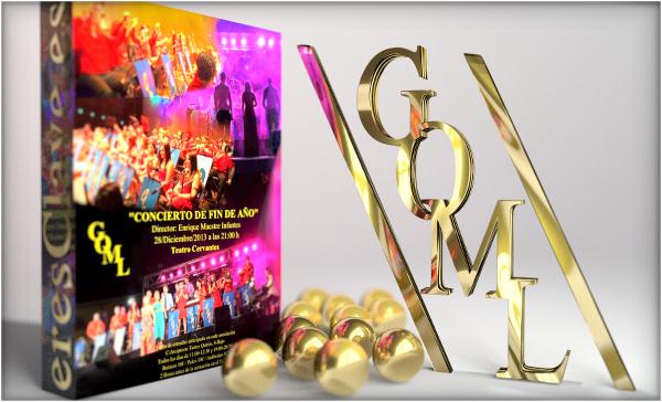 Concierto de fin de año de la Gran Orquesta de Música Ligera de Linares, a celebrar el 28 de diciembre de 2013. Ya están a la venta las localidades en la sede de la orquesta