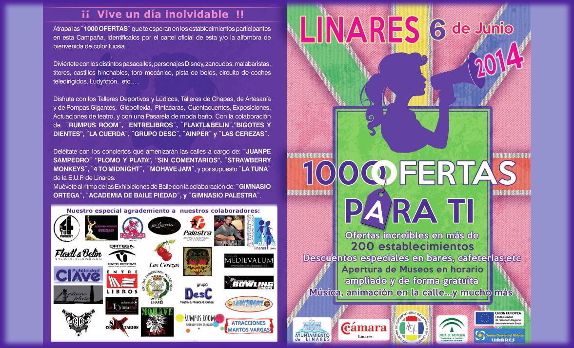 Promoción 1000 Ofertas de Primavera en Linares - 6 de junio de 2014