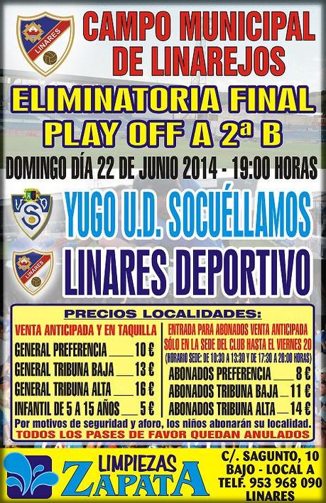 cartel-oficial-playoff-final-Linares-Deportivo-Yugo-UD-Socuellamos
