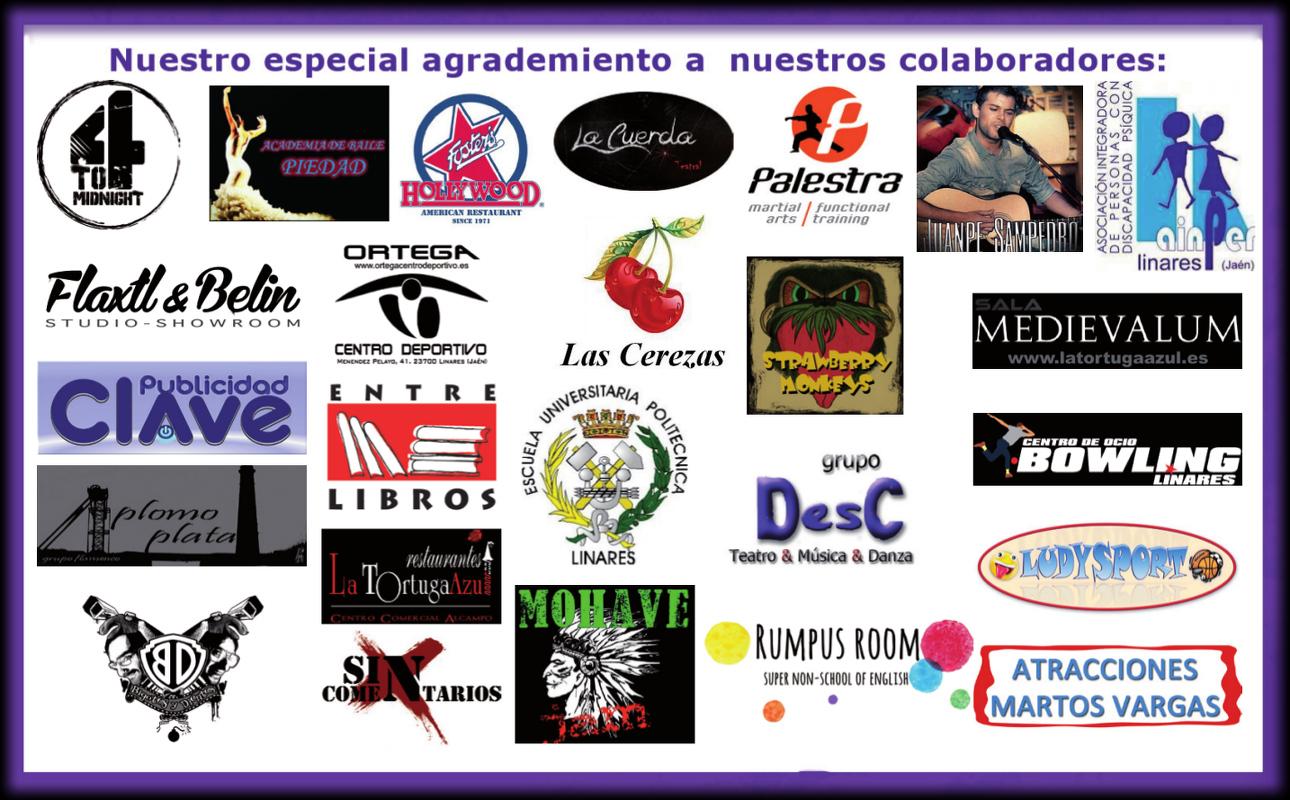 colaboradores en la promoción 1000 Ofertas de Primavera de Linares - 6 de junio de 2014