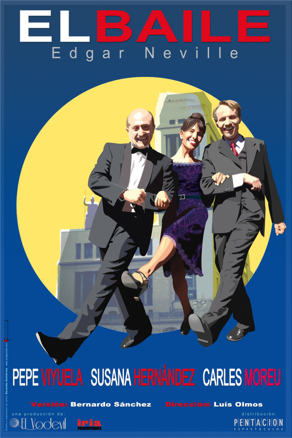 cartel del día 28 de agosto en el Teatro Cervantes de Linares: El Baile, de Edgar Neville