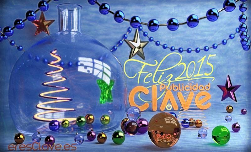Publicidad Clave os desea feliz 2015 - eresClave diseño.