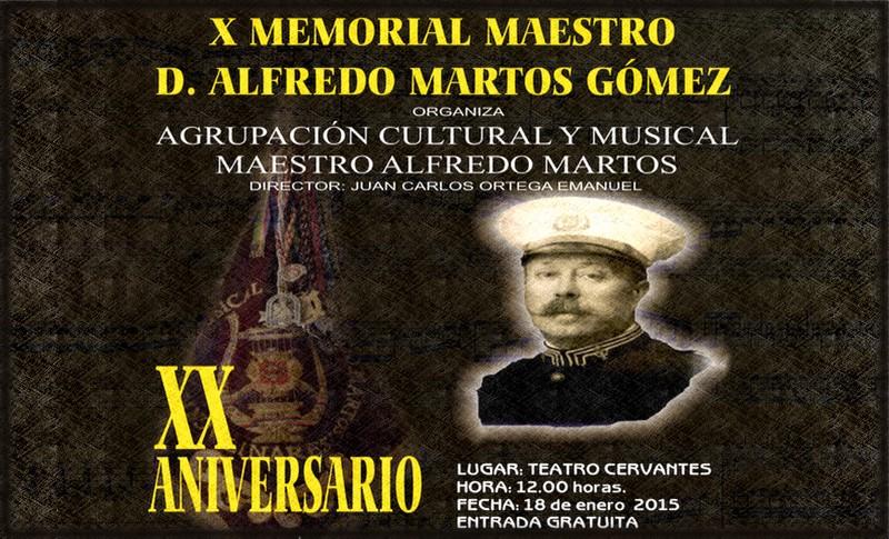 X Memorial Maestro Alfredo Martos Gómez