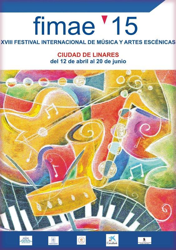 cartel del Fimae'15 de Linares