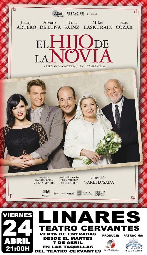 cartel-Teatro-Fimae'15-Linares-El-Hijo-de-La-Novia