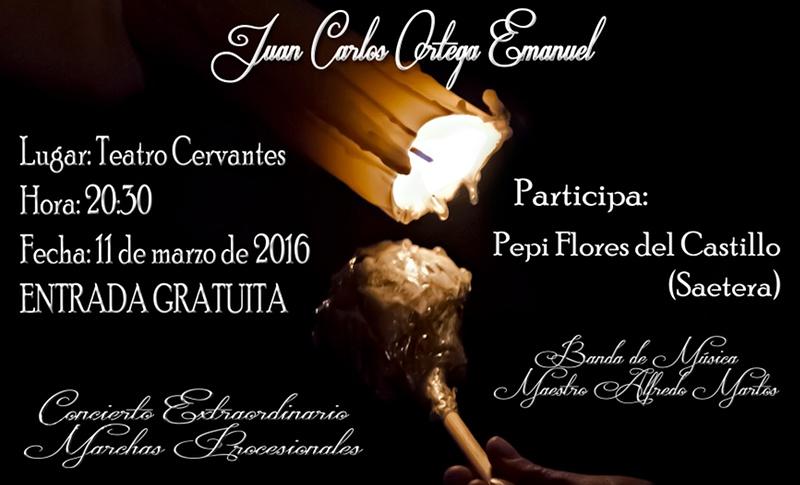 Concierto Extraordinario de Marchas Procesionales - Agrupación Maestro Alfredo Martos - Linares 2016