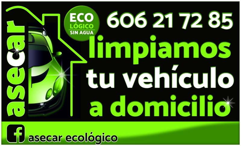 limpieza de vehículos a domicilio - AseCar Ecológico