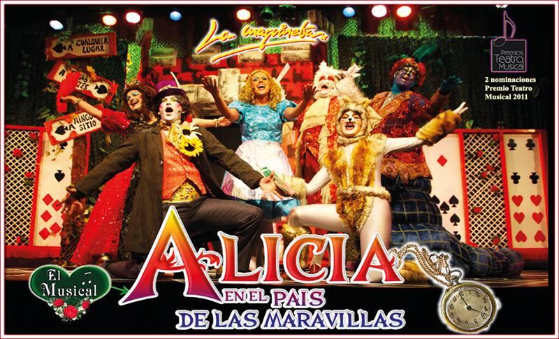 Musical Alicia en el país de las Maravillas en Linares