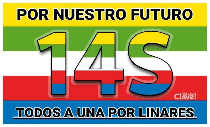 TODOS A UNA POR LINARES - 14S