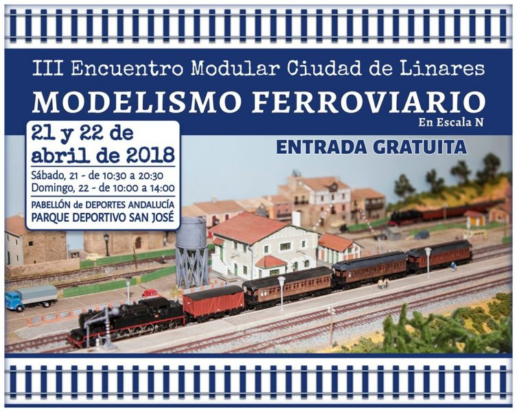 III Encuentro Modular Ciudad de Linares (modelismo ferroviario en escala N)