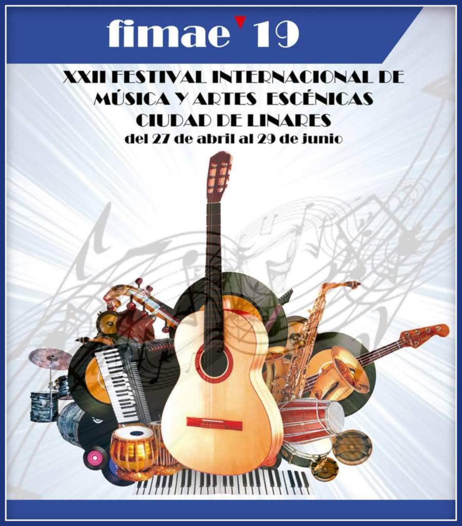Fimae'19 · XXII Festival Internacional de Música y Artes Escénicas Ciudad de Linares