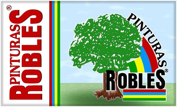 Pinturas Robles logotipo y marca