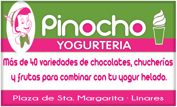 Yogurteria Pinocchio - Plaza de Santa Margarita. Linares