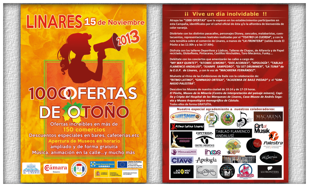 Campaña Mil Ofertas de Otoño - Linares, 15 de noviembre de 2013