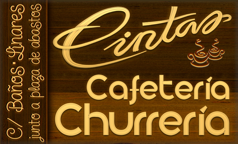 Cafetería Churrería Cintas - en Linares, junto a la Plaza de Abastos