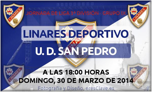 partido Linares Deportivo - UD. San Pedro el- 30-03-2014