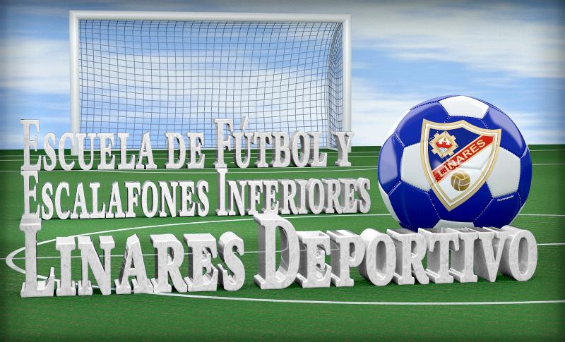 Escuela de Fútbol y Escalafones Inferiores del Linares Deportivo - Diseño eresClave.es