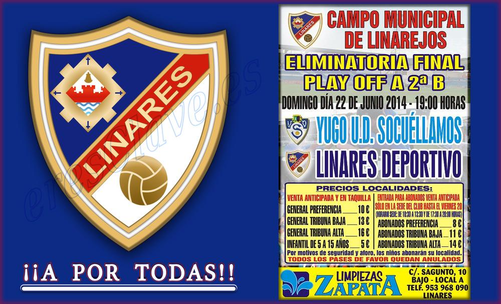 eliminatoria final playoff a 2ª B ... Linares Deportivo - Yugo U.D. Socuéllamos