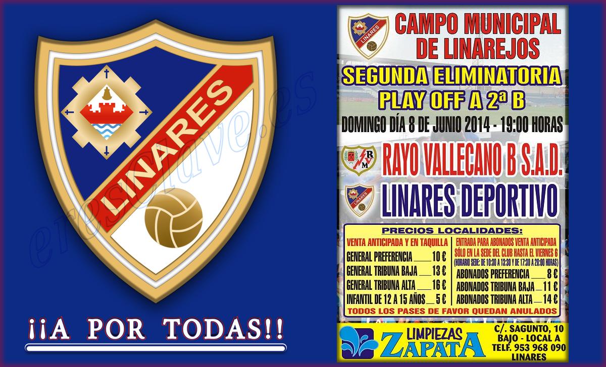 playoff a 2ª B ... Linares Deportivo - Rayo Vallecano B