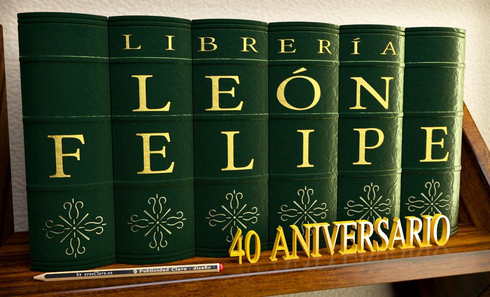 Librería León Felipe cumple su 40 aniversario en Linares