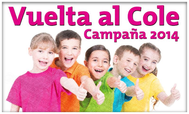 Vuelta al Cole - Campaña 2014 - CCA Linares