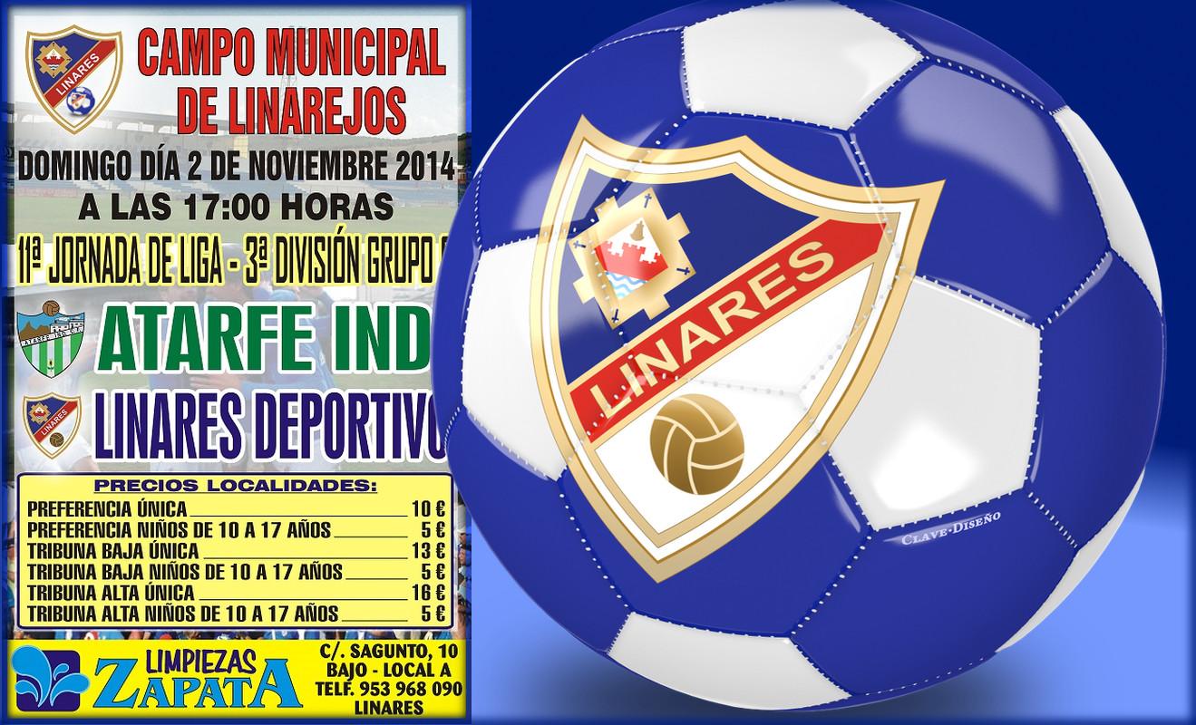 Linares Deportivo - Atarfe Industrial C. F.