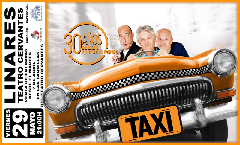 La Obra Taxi, en el Teatro Cervantes de Linares