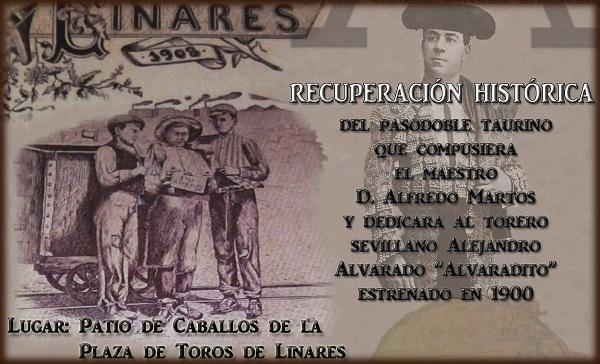 VI Concierto Homenaje a la Feria Taurina de Linares a cargo de la Banda Alfredo Martos
