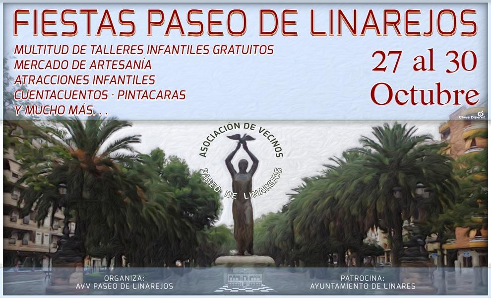 Del 27 al 30 de octubre Fiestas en el Paseo de Linarejos.