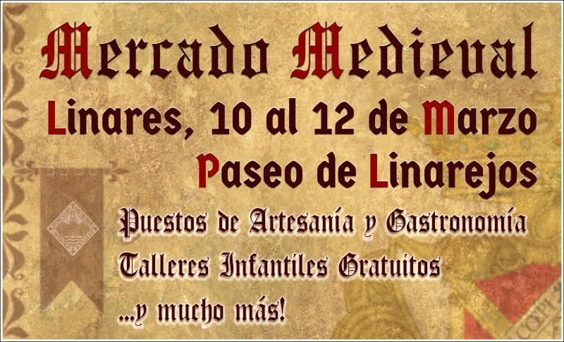 Mercado Medieval en Linares - marzo2017- diseño Clave
