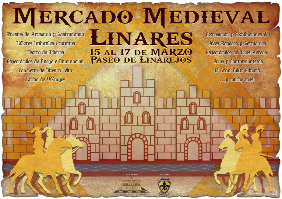 Mercado Medieval en Linares del 15 al 19 de Marzo, en el Paseo de Linarejos