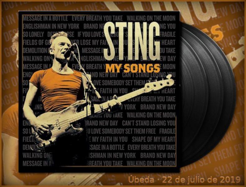 Sting presenta My Songs, en el FestMuve de Úbeda 2019
