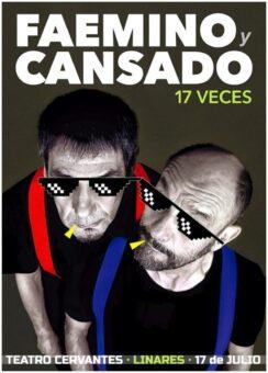 Faemino-Y-Cansado-17-veces-Teatro-Cervantes-Linares-Fimae-2021